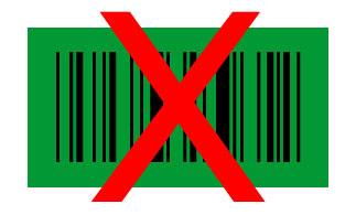 code-barres vert noir