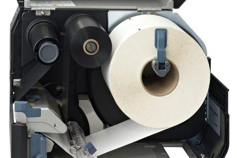 imprimante d'étiquettes de l'intérieur