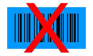 code-barres bleu noir