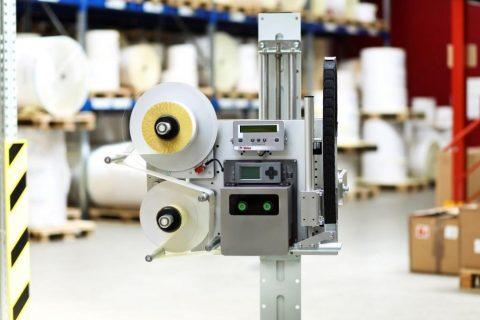 The labeling machine Legi-Air 4050