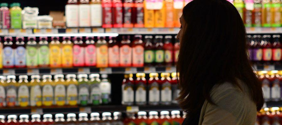 achats d'épicerie