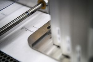 Kennzeichnung von Schutzmasken mit Tintenstrahldrucker